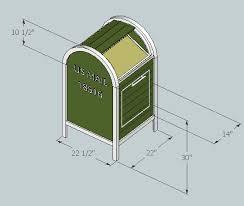 mailbox dimensions. Additional Photos: Mailbox Dimensions I