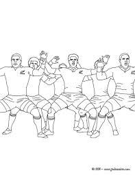Coloriage Rugby Gratuit