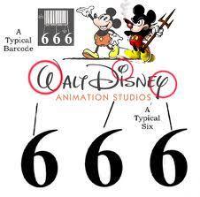 walt disney 666 subliminal message. Contemporary Walt WaltDisney666LogoBarcode Intended Walt Disney 666 Subliminal Message M