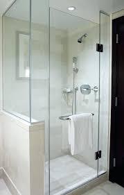 inspiring half glass shower door splash glass shower doors academy glass clean glass shower doors water