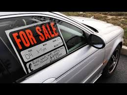 Automobile For Sale Sign How To Inspect A Used Car For Purchase Youtube