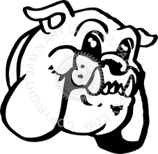 friendly bulldog mascot clipart. Modren Mascot On Friendly Bulldog Mascot Clipart