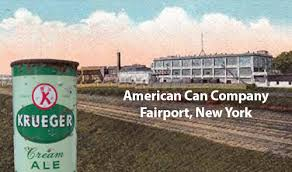 Image result for the American Can Company and Gottfried Krueger Brewing Company