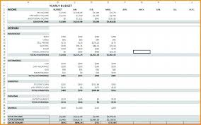 Yearly Expense Report Template Excel Monthly Expense Sheet Excel Template