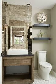 powder room bathroom lighting ideas. Powder Room Ideas Transitional With Black Floating Shelving Nickel Pendant Lights Bathroom Lighting R