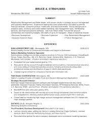 Prepossessing Relationship Management Resume For Resume