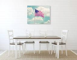 flag wall art american flag decor