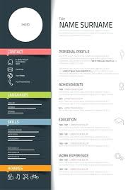 Curriculum Vitae Template Free Adorable Free Creative Curriculum Vitae Template Word Resume Templates And