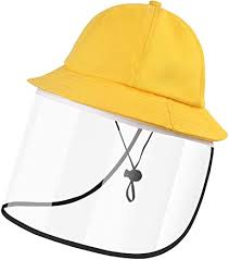 Baby Kids Sun Hats with <b>Removable Face</b> Visor <b>Shield</b>,UV