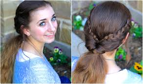 Viking Hairstyle Female braid flip bo easy hairstyles youtube 4977 by wearticles.com