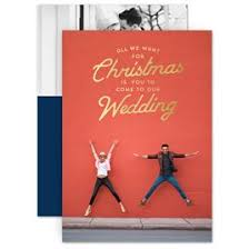 Christmas Wedding Save The Date Cards Holiday Save The Dates Invitations By Dawn