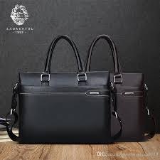 laorentou men shoulder bag cow leather crossbody bags brand business messenger bag casual high quality