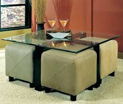 awesome home alluring coffee table with stools underneath on round choice image from coffee table