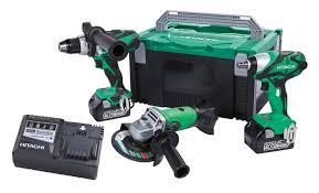 hitachi power tools. 18v engineers kit hitachi power tools t
