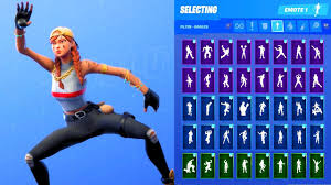 Check spelling or type a new query. Aura Skin Showcase With All Fortnite Dances Emotes Youtube