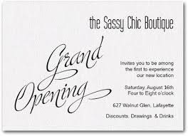 Opening Invitation Card Sample White Sparkle Grand Opening Ideas For The House Business