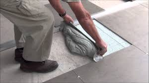 how to lay large format tiles without using a self levelling compound you