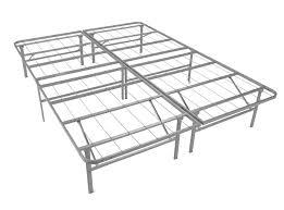 Cal-King Metal Platform Bed Base - No Box Spring Required