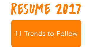 2017 Resume Trends New The 28 Resume Trends To Follow Success As A Career Commando