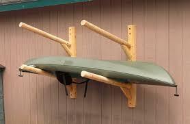 outdoor kayak storage rack