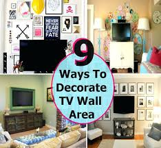 how to decorate tv wall 9 brilliant ways to decorate your wall area how to decorate tv wall in bedroom
