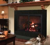 Heatilator 42 Inch SeeThrough Wood Burning FireplaceFireplace Heatilator