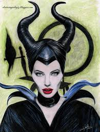 Drawingcolor Malificent Drawing Color Angelina Jolie By Isabel Mr On Deviantart