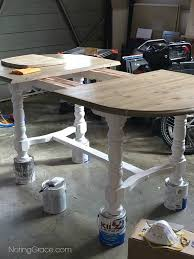 farmhouse style table makeover for 20