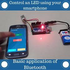 how to control an led using a smartphone and arduino diy hacking arduino bluetooth