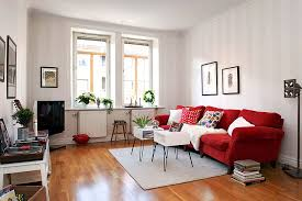 simple apartment living room