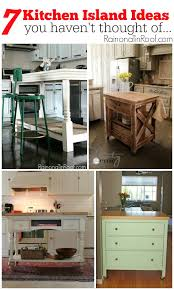 DIY Kitchen Island Ideas You Havent Thought Of