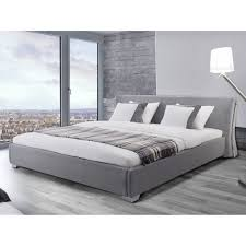 bed frame with nightstand attached modern bed frames leather platform bed king size
