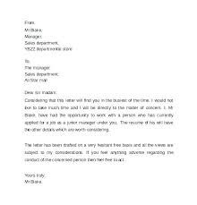 Child Custody Reference Letter Amazing Character Examples