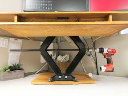 awesome build a standing desk trends and diy platform add on pictures height adjule