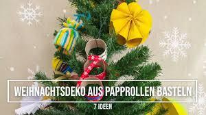 Weihnachtsdeko Aus Papprollen Basteln 7 Diy Ideen Für Weihnachtsschmuck