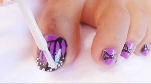 Watch Simply Simple Nail Art For Feet at Best 2017 Nail Designs Tips
