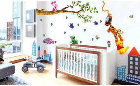 Winnie The Pooh Wall Decor The Pooh Wall Stickers Nursery Boy Kid Baby Room  Vinyl Art