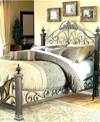 King Size Wrought Iron Bed Frame Amazing Wrought Iron Beds That Can ...
