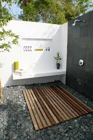 image of outdoor shower ideas beach