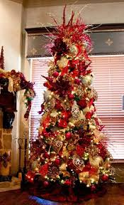 christmas trees decorated in red and gold. Beautiful And Hereu0027s A Dreamy Christmas Tree Inspiration To Get Started Decorated With  Red And Gold Adornments We Fell In Love This Just For That  Throughout Trees In Red And Gold I