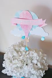 Hot Air Balloon Centerpiece by VanessaGrantEvents on Etsy https://www.etsy.