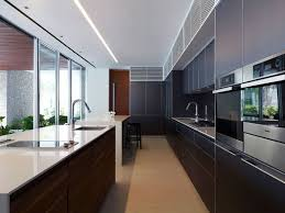 Design Kitchen Long Narrow