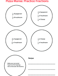 Pizza Mania Size Chart Geometry Lesson Plans Page 4 Education Com