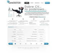 Curriculum Vitae Generator Delectable Cv Generator Alannoscrapleftbehindco For Curriculum Vitae Generator