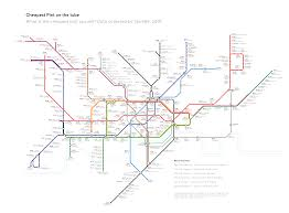 Map The Cheapest Pint In The Pub Closest To Every Tube