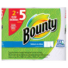 Bounty Roll Size Chart Bounty Select A Size Paper Towels Huge Rolls 158 Sheets 2