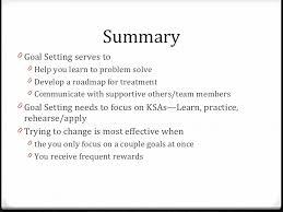 iop part motivation and goal setting 33 <ul><li>goal setting