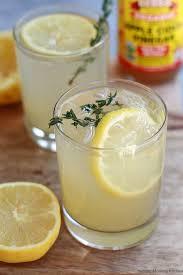 healthy t apple cider vinegar drinks with lemon