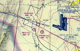Virginia Aeronautical Chart Abandoned Little Known Airfields Virginia Loudoun County