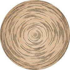 braided chelsea jute natural 8 ft x 8 ft round rug